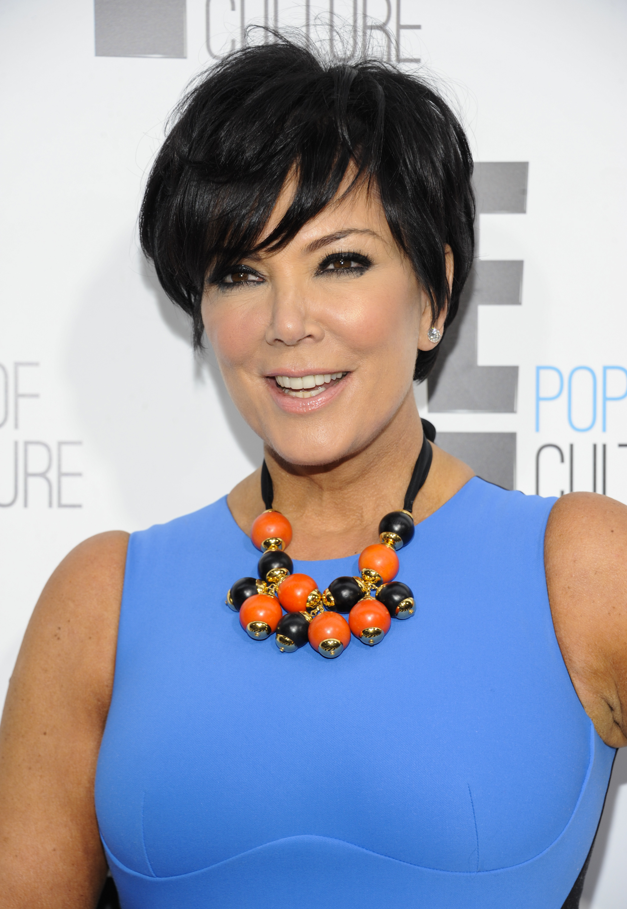"Kris Jenner from the show ""Keeping Up With The Kardashians"" attends an E! Network upfront event at Gotham Hall on Monday, April 30, 2012 in New York. (AP Photo/Evan Agostini)"