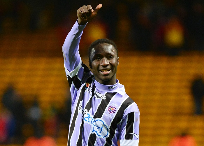 Naby KEITA  - 19.12.2013 - Lens / Istres - 18e journee Ligue 2 Photo : Dave Winter / Icon Sport